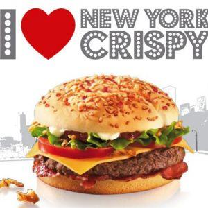 New york crispy de mcdonald 39 s photos non contractuelles for Mcdo corentin celton